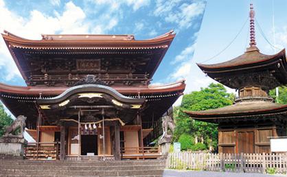 花岡八幡宮(多宝塔)